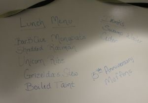 Lunch Menu UO Style