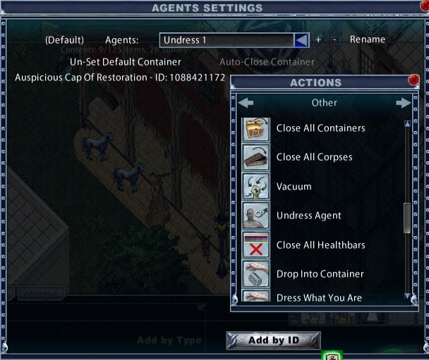 Agents Settings in the Enhanced Client – Ultima Online