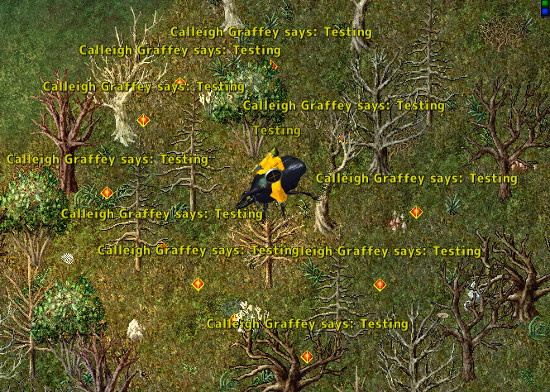 In Game Communication – Ultima Online