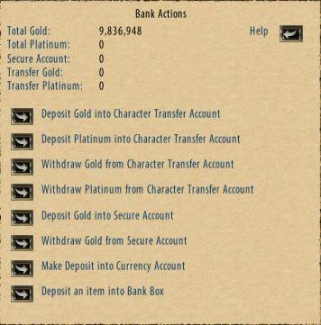Money – Ultima Online