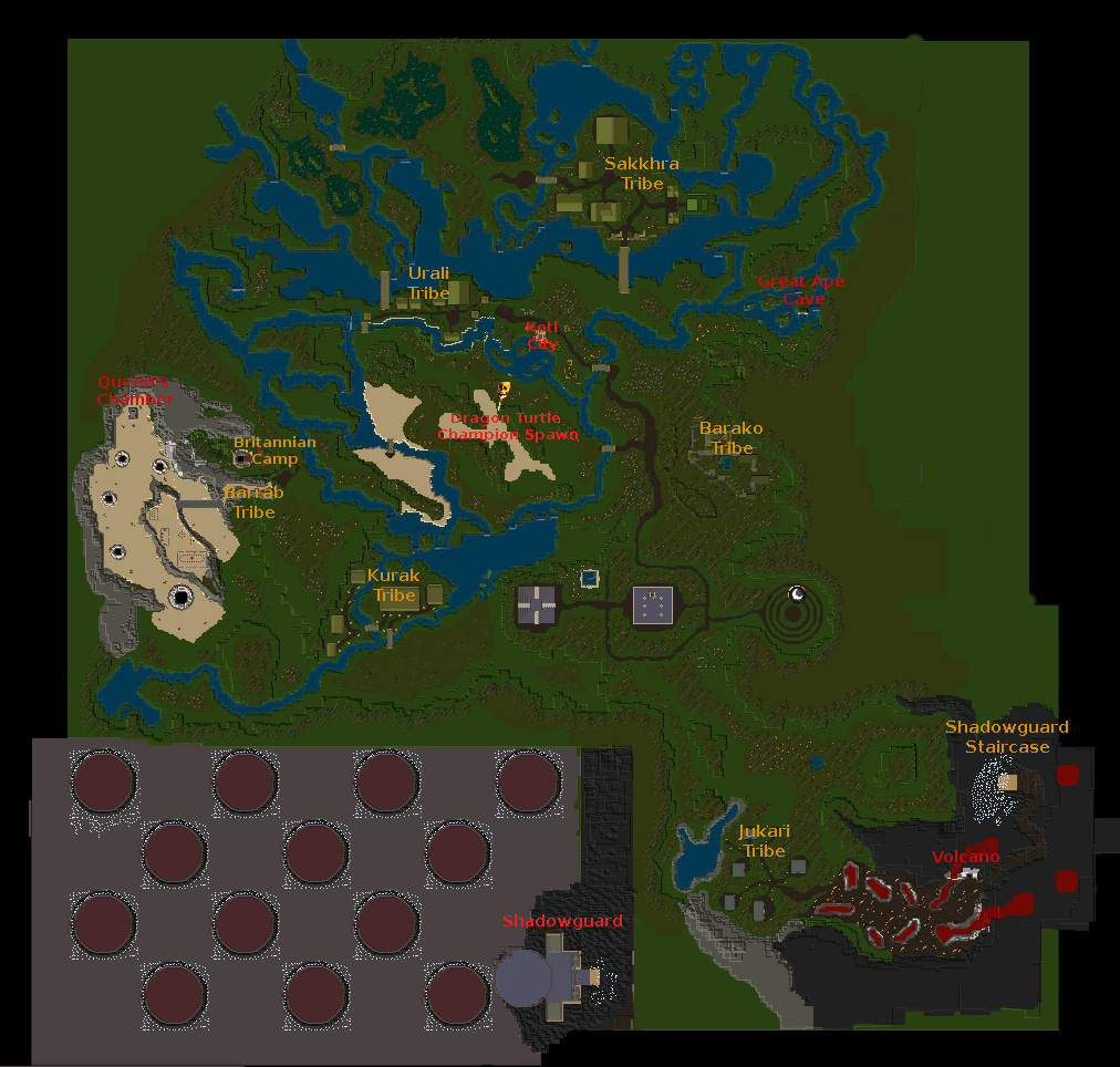 Facet Maps – Ultima Online