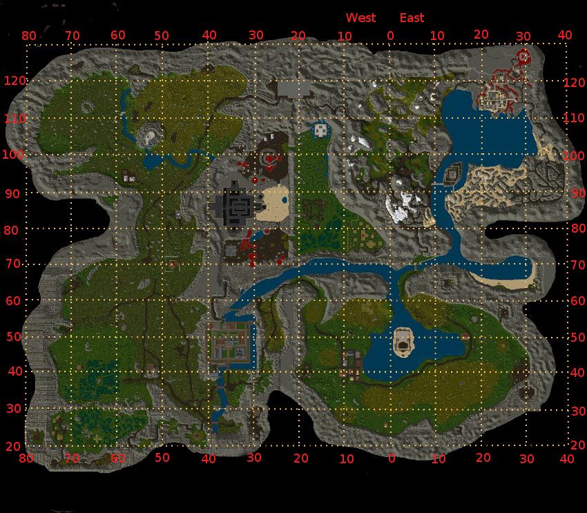 Facet Maps Ultima Online