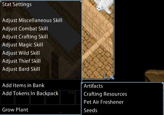 Test Center Commands and Resources – Ultima Online